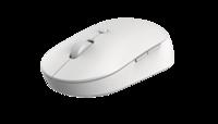Мышь беспроводная Mi Dual Mode Wireless Mouse Silent Edition White WXSMSBMW02 (HLK4040GL)