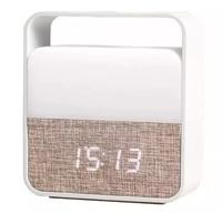 Будильник-ночник XiaoMi Midea Clock Alarm Night Light Elegant, Белый