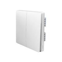 Умный выключатель Xiaomi Aqara Smart Light Control ZigBee (Двойной, встраиваемый) White (QBKG03LM)